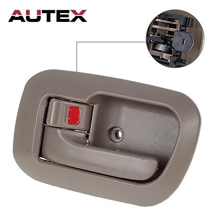 Amazon.com: AUTEX 1pcs Beige Interior Door Handle (Front Left Side ...