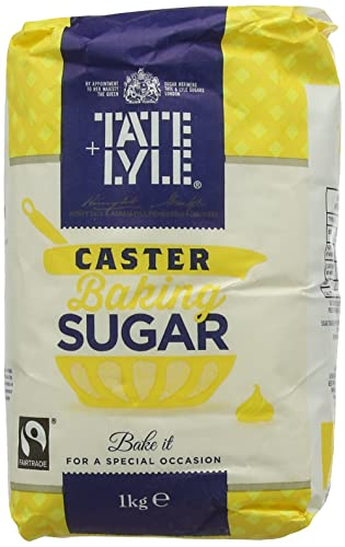 Tate & Lyle Fairtrade Caster Sugar 1 kg (Pack of 5)