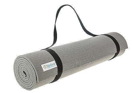 Amazon.com : Luxurious Yoga Mat - 1/4 Inch, Eco Friendly ...