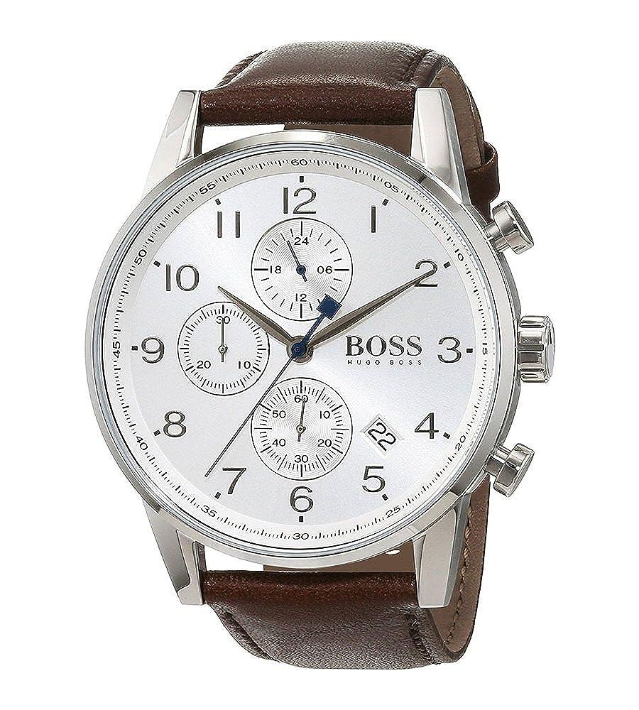 Amazon.com: Boss NAVIGATOR CLASSIC 1513495 Mens Chronograph Classic & Simple: Hugo Boss: Watches