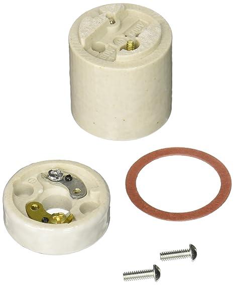 NEW LOT OF 2 LEVITON PLUG LAMP SOCKET HOLDER 660 WATT 660W 600 VOLT