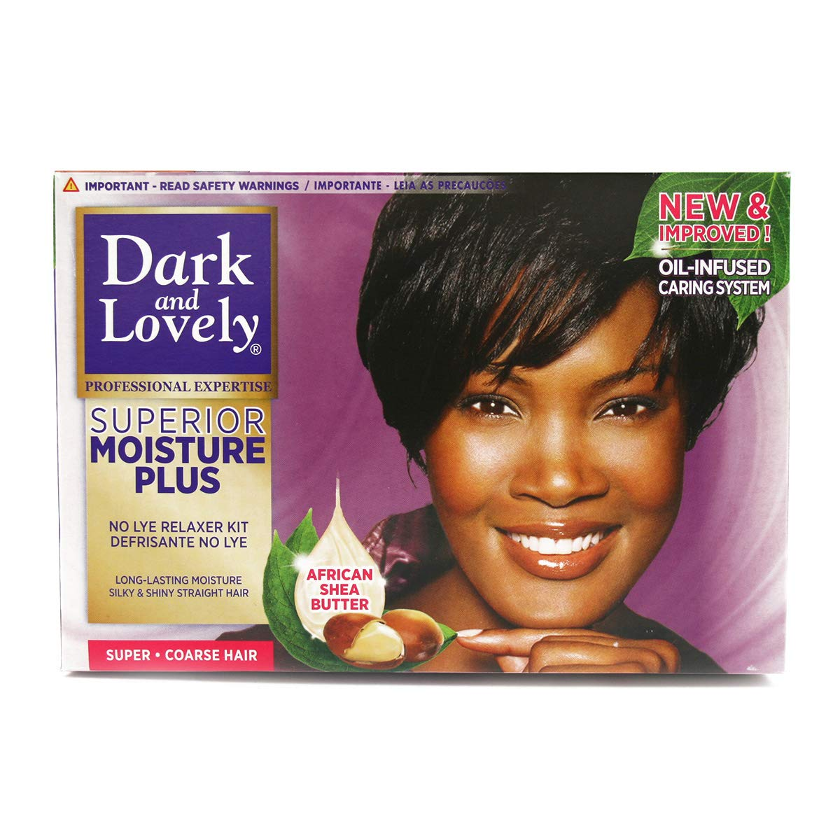 Healthy Gloss 5 Shea Moisture Relaxer Kit - Super Hair Color Women by Dark And Lovely