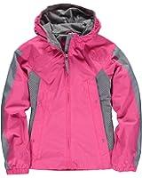 London Fog Big Girls' Hooded Spring Insulated Jacket