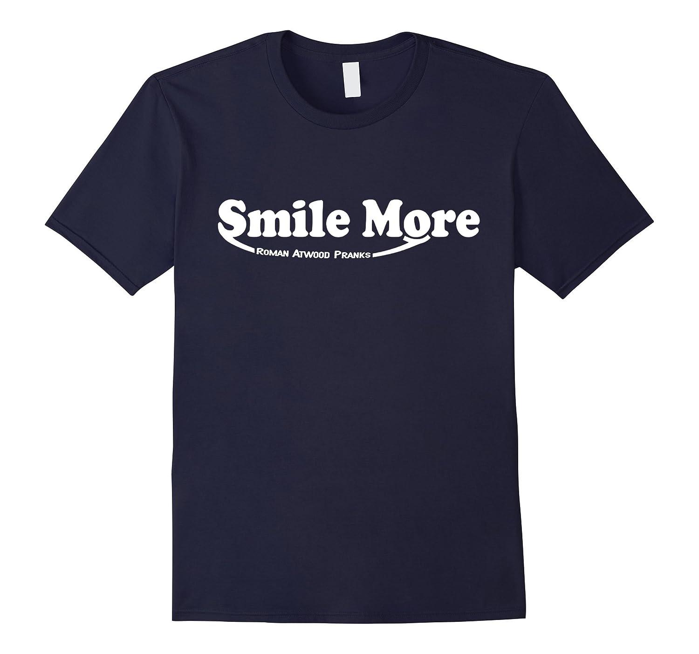 S-mi-le t shirt Mo-re Roman-Atwood - T Shirt