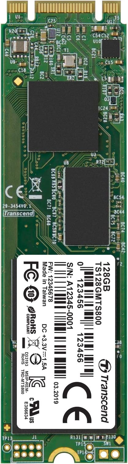 Transcend TS64GMTS600 - Disco Duro sólido Interno SSD M.2 de 64 GB ...