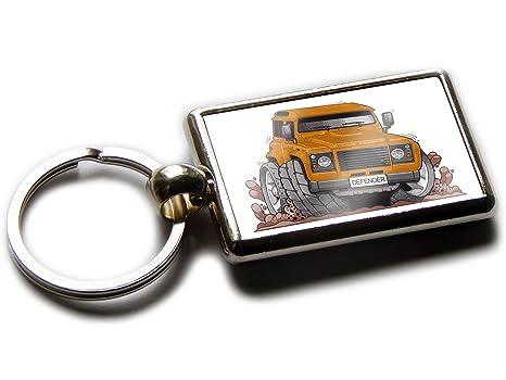 Amazon.com: Koolart - Llavero cromado para coche, diseño de ...