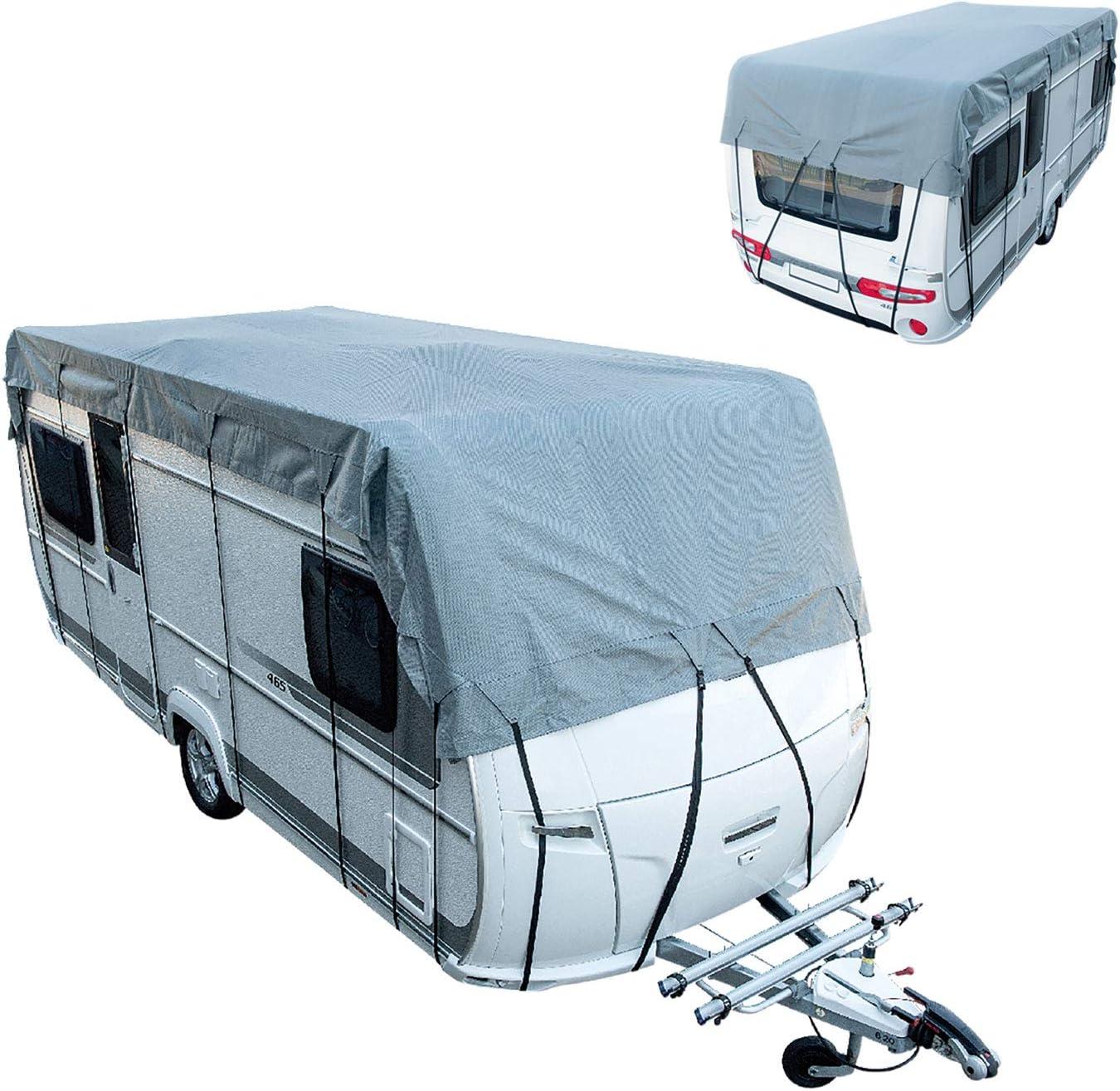 Cartrend Caravan 10265 Dachschutzplane Plane Dachplane Dachschutz Caravan Schutzhülle Abdeckplane Dachschutz Caravan Auto