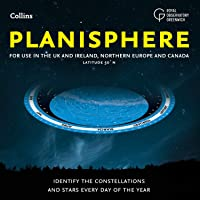 Planisphere: Latitude 50°N – for use in the UK and Ireland, Northern Europe and Canada