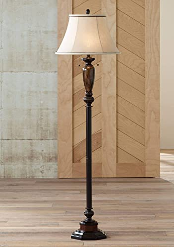 Kathy Ireland Sonnett 63 1/2″ High Twin Pull Floor Lamp