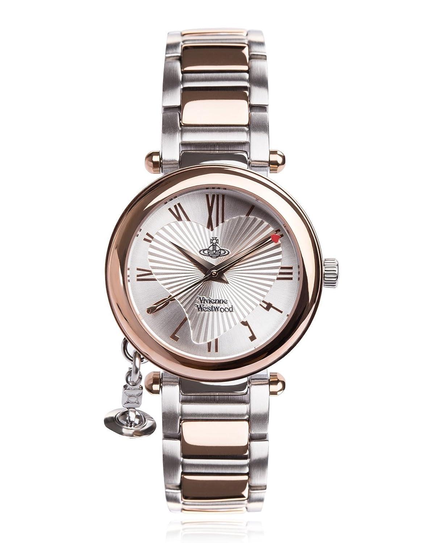 amazon co uk vivienne westwood watches vivienne westwood ladies orb rose gold case bracelet