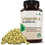 Futurebiotics Vitamin A 10,000 IU Premium Non-GMO Formula Supports Healthy Vision & Immune System and Healthy Growth…