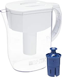 Brita Everyday Pitcher with 1 Longlast Filter, Large 10 Cup, White