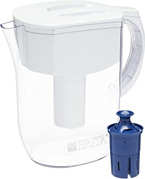 Brita 10-Cup Everyday Pitcher with 1 Longlast Filter (3 colors)