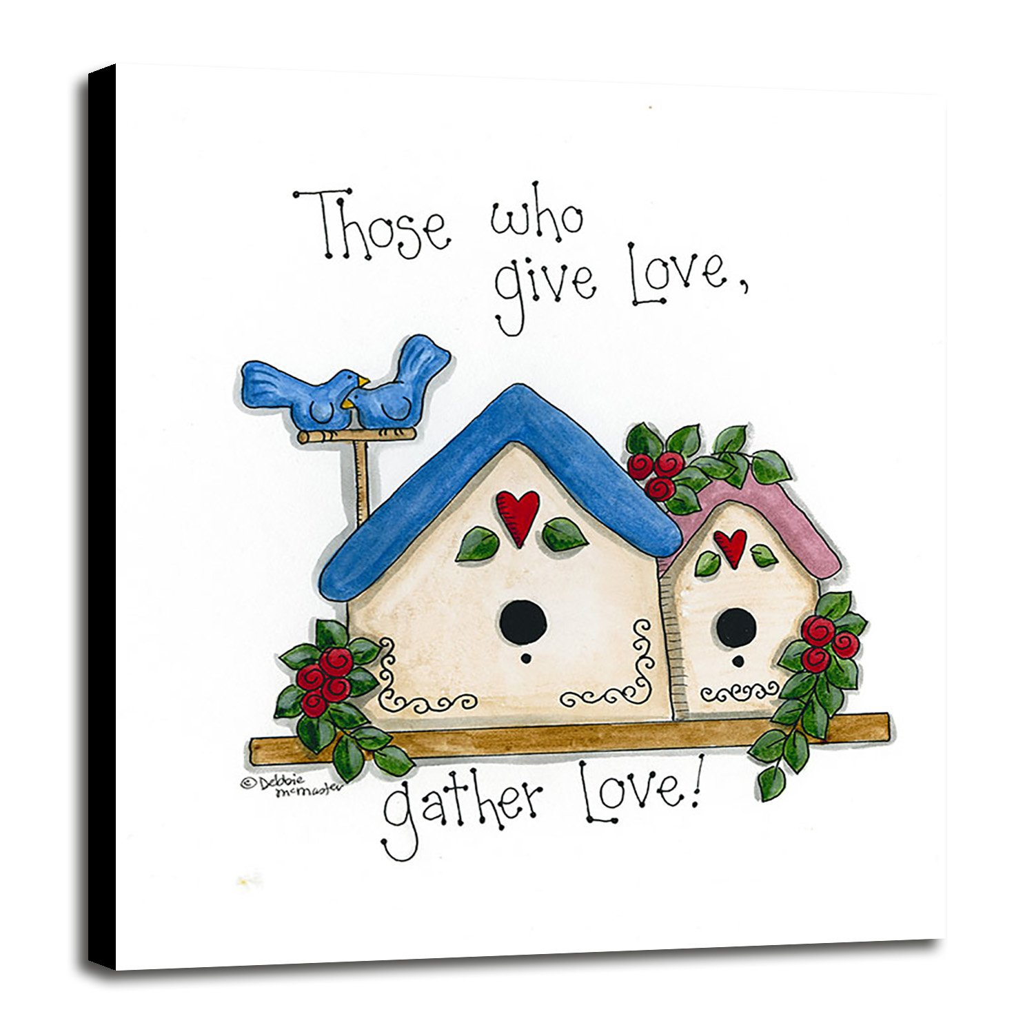 Those Who Give Love, Gather Love Framed Print 32.26''x27.48'' by Debbie McMaster