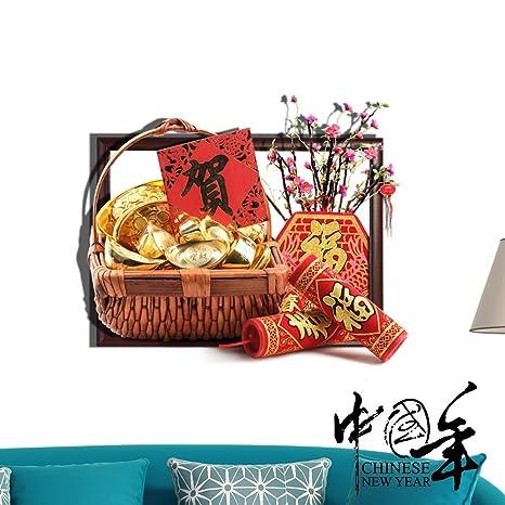 WEIAN® pittura cinese in 3d (regalo) dipinti dimensionale pittura ...