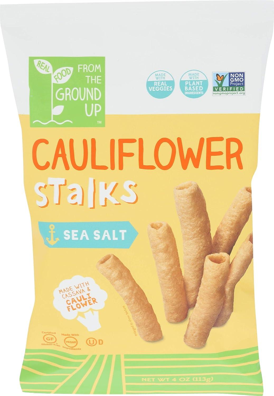 FROM THE GROUND UP Cauliflower Stalk Sea Salt, 4 OZ