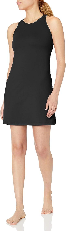 Amazon Brand - Core 10 Women's Spectrum Built-in Sports Bra Strappy Yoga Dress