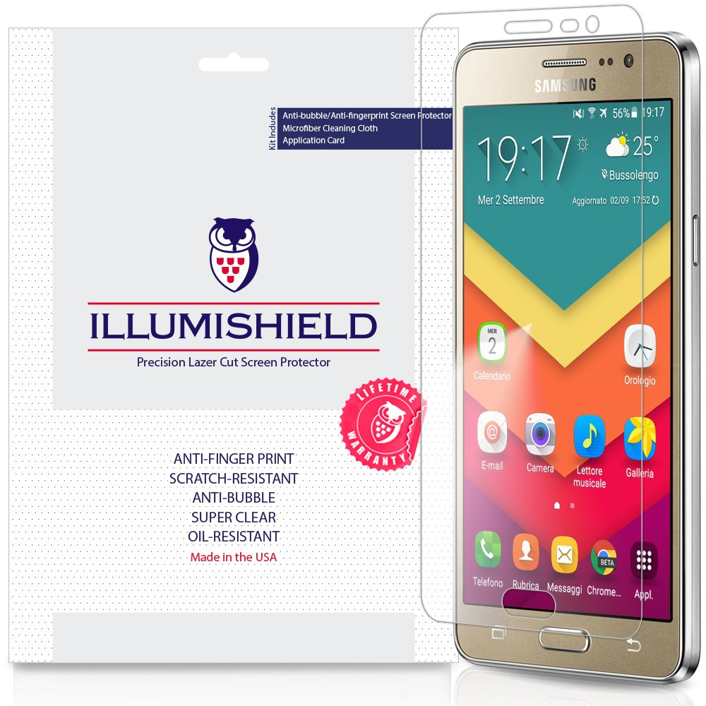 Samsung Calendario.Illumishield Screen Protector Compatible With Samsung Galaxy On5 3 Pack Clear Hd Shield Anti Bubble And Anti Fingerprint Pet Film