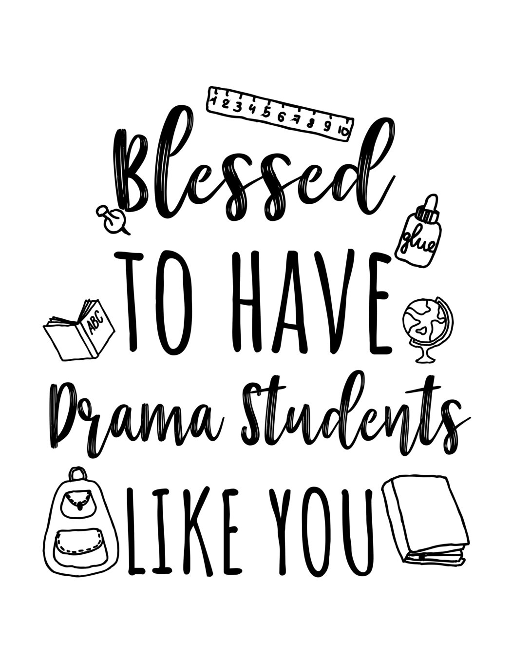 blessed to have drama students like you drama teacher appreciation Canon Ink Cartridges Cheap blessed to have drama students like you drama teacher appreciation journal notebook paperback april 4 2018