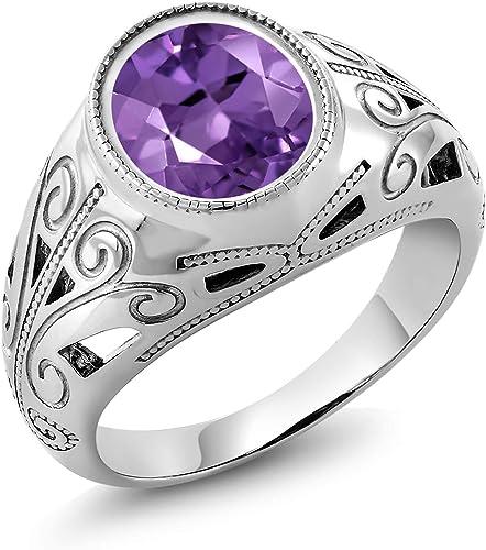 Amethyst ring,Amethyst ring men,Amethyst ring women,Amethyst stone silver ring,silver amethyst stone male ring,amethyst ring silver