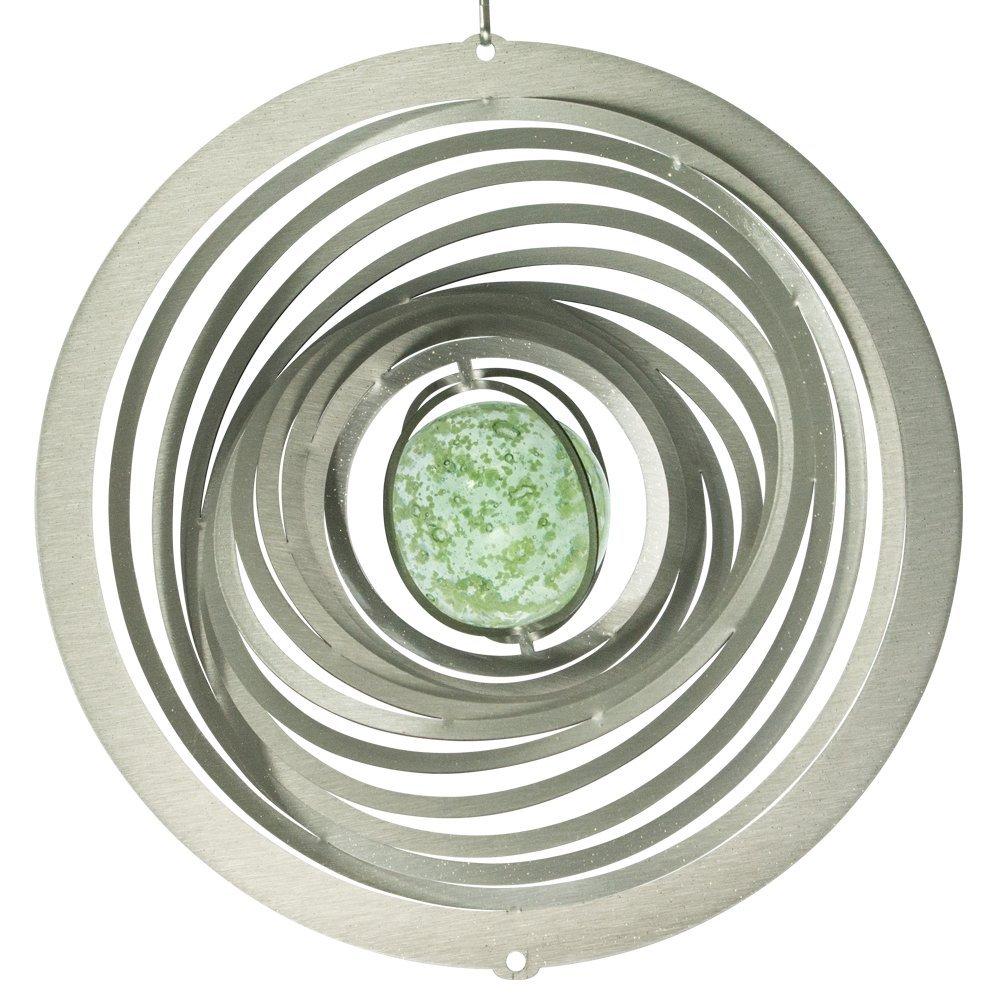 con gancio e fluoreszierender sfera di vetro Strudel Glow ...