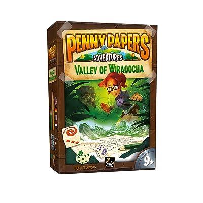 2 Tomatoes Games- Penny Papers: El Valle de Wiraqocha, (8437016497197-0): Juguetes y juegos