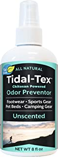 product image for Tidal-Tex Natural Odor Preventor Spray for Shoes and Feet, Sportswear, Pet Beds, Camping Gear, 8oz - Natural Foot Deodorizer - Eliminate Smelly Shoes!
