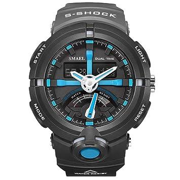 Blisfille Relojes Digitales Junior Reloj de Queen Relojes Hombre Inteligentes Relojes de Cuarzo Hombre Reloj Acero Mujer: Amazon.es: Deportes y aire libre