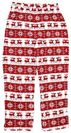 In Fashion Kids Girls Holiday Reindeer Fleece Pajama Pants