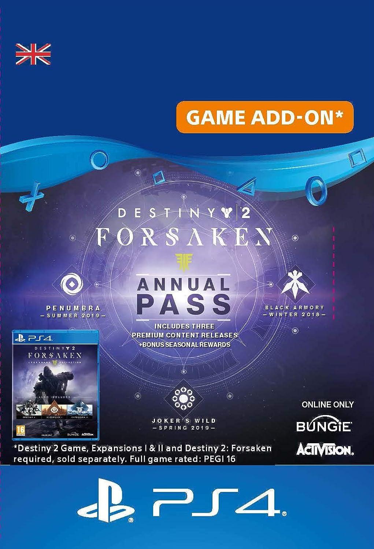 88fbe435b51 Destiny 2  Forsaken Annual Pass - Annual Pass Edition