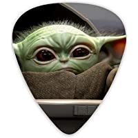 12 púas de guitarra, Baby Yoda Star Wars 3 púas de púa de guitarra de diferentes espesores para bajo, guitarras…