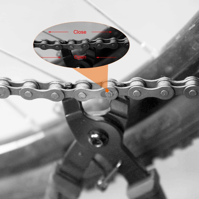 TAGVO Alicate de Cadena + Herramienta de Cadena para Bicicleta + ...