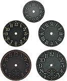 Advantus Idea-Ology Garde-temps en métal Horloge Faces 11/4à rouleaux, nickel antique, en laiton et cuivre