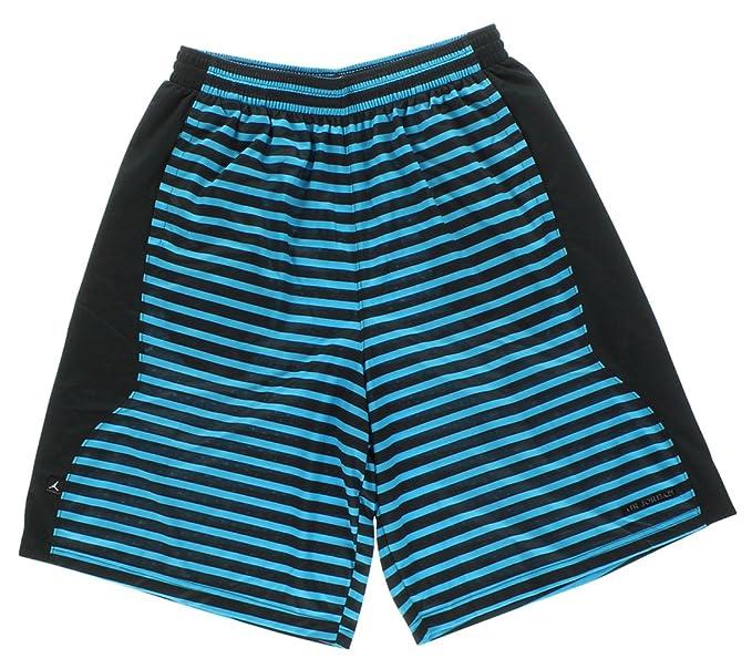 Jordan Men s Nike Dri-Fit AJX Flipped Retro Basketball Shorts-Black Arctic- ed1b3c1c9