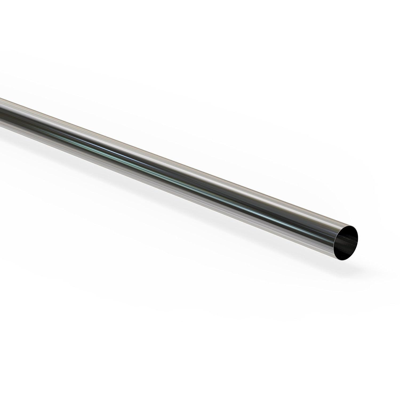 AUPROTEC 100 cm universal Kfz Auspuffrohr Ø 38 42 45 48 50 54 57 60 65 76 mm Auswahl: (Ø 50 mm Außen Länge 100 cm)