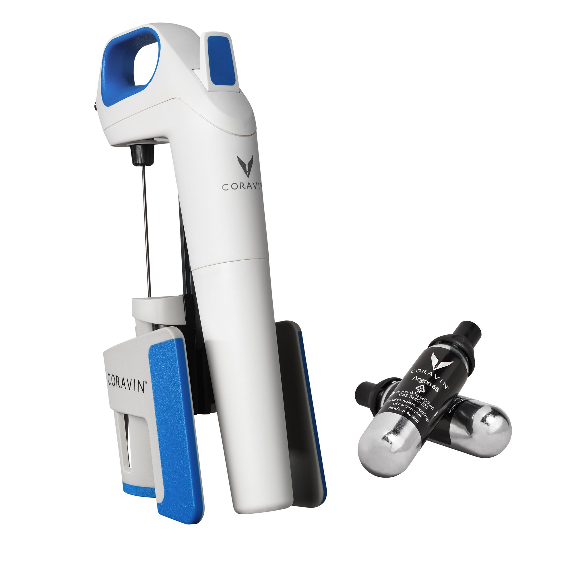 Coravin Model One Wine System, Blue/White