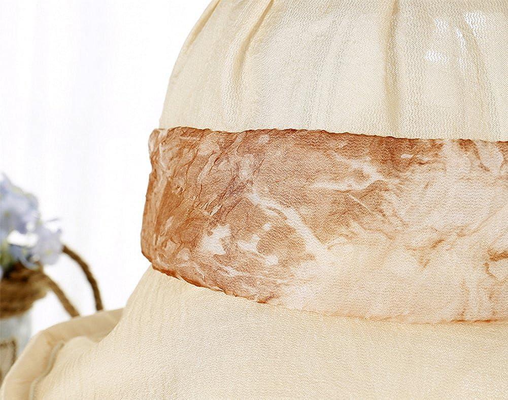 Leisial Anti-soleil Bob Chapeau en polyester Respirant Anti UV Chapeau de soleil pour /Ét/é Loisir Voyage