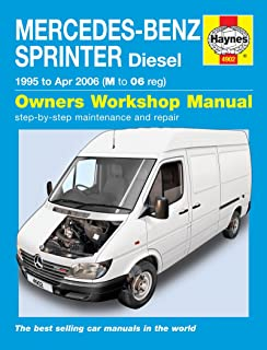 mercedes benz sprinter diesel 1995 to 2006 haynes service and mercedes sprinter van diesel 1995 2006 manual
