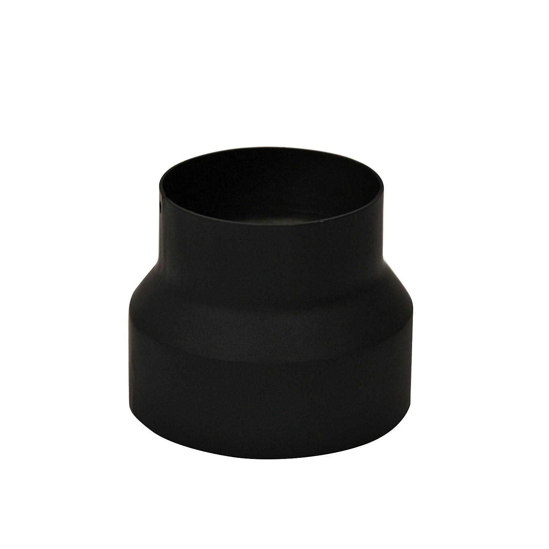 Kamino-Flam 331861 Adaptador de Reducción para Tubo de Chimenea, Acero, Plata, 17.6x17.2x16.8 cm: Amazon.es: Hogar