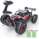 RC Car, SPESXFUN 2021 Newest 1:14 Scale High Speed Remote Control Car, 2.4Ghz Off Road RC Trucks with Two Rechargeable Batter