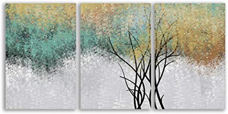 signwin Canvas Wall Art Modern Abstract Art Canvas Prints Home Artwork Decoration for Living Room,Bedroom