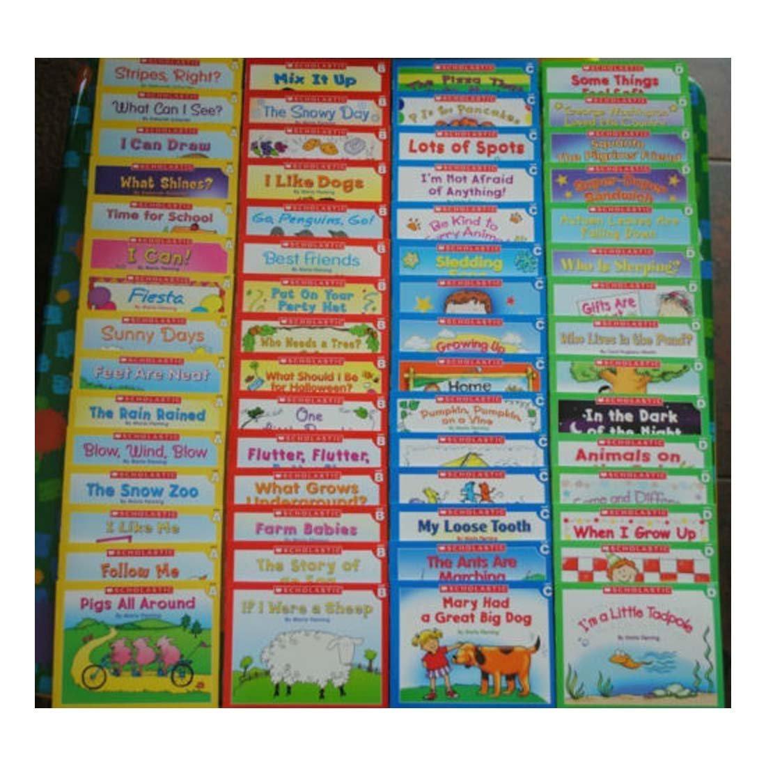 60 Easy Leveled A B C D Books Homeschool Preschool Kindergarten Learn to Read - 4 1/2'' X 5 1/2''