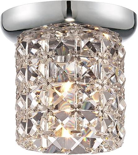 Golden Lighting 7644-6 RBZ Mirabella Chandelier, Rubbed Bronze