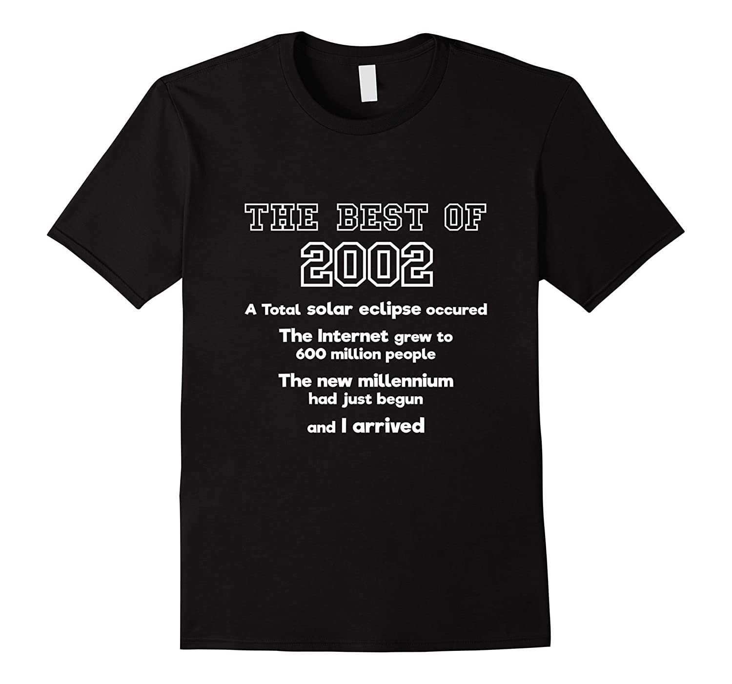 2002 15th birthday t shirt gift for 15 year old boys girls for T shirts for 15 year olds
