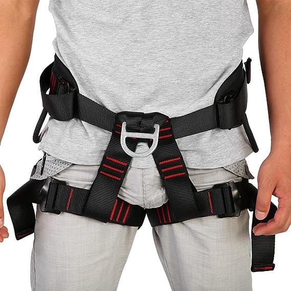 GOTOTOP Ajustable Exterior Resistente Cinturón de Rappel para ...