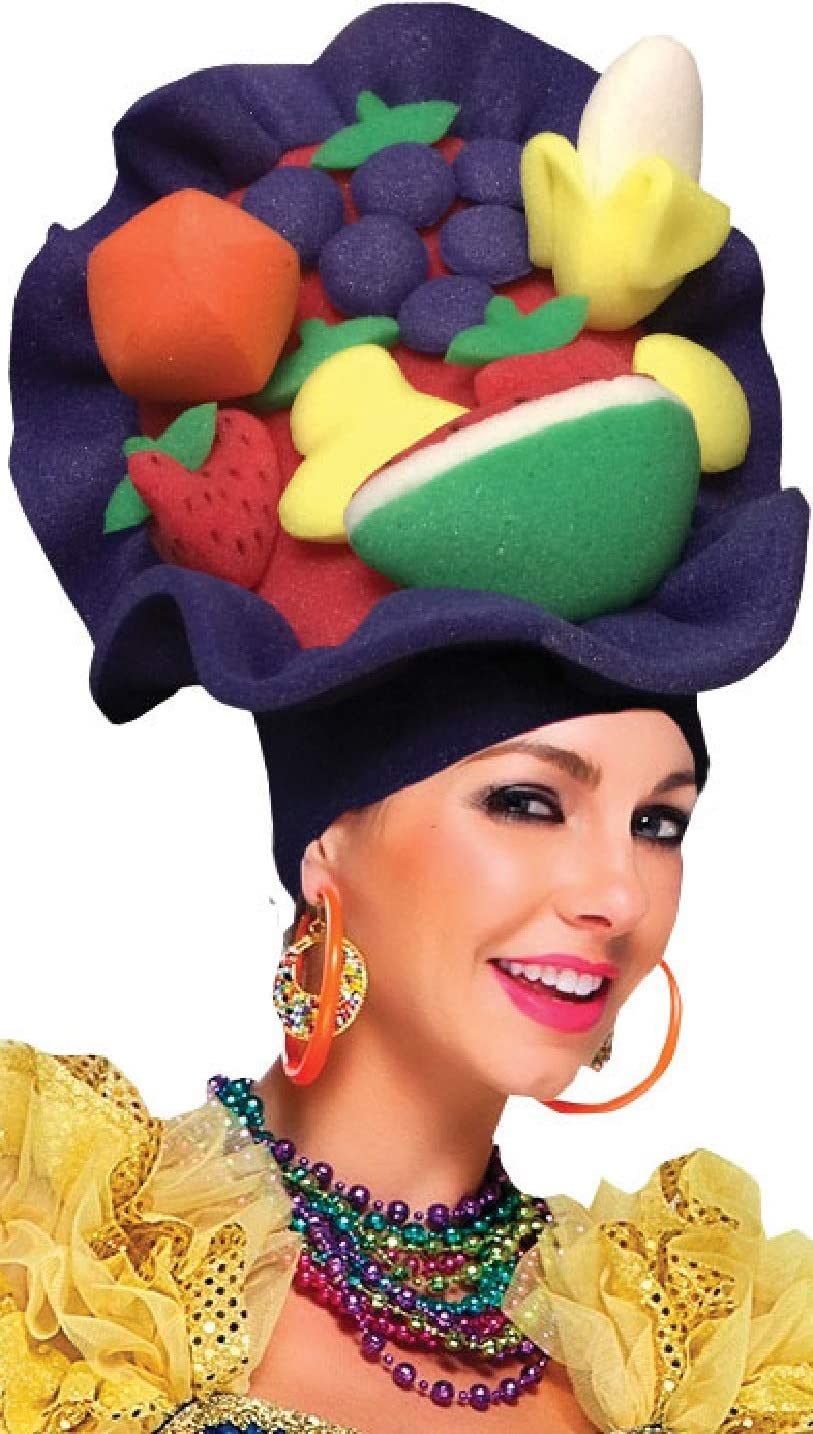 Fancy Me Carmen Miranda - Disfraz de Carnaval de Frutas del Caribe ...