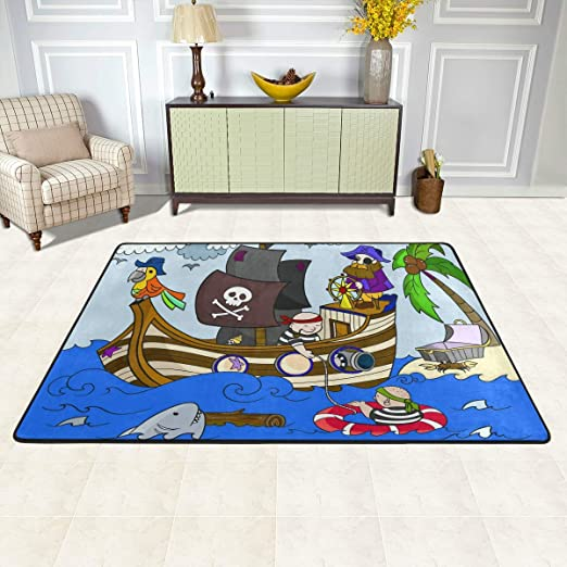 3 3 x 5 nuLOOM 200MCGZ20A-3305 Pirate Playtime Rug Area