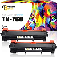2Pack Amstech 8,000 Pages Compatible Toner Cartridge Replacement for Brother TN-750 TN750 for Printers HL-5440D HL-5450DN HL-6180DWT HL-5470DW MFC-8510DN MFC-8710DW DCP-8810DW DCP-8910DW DCP-8950DW