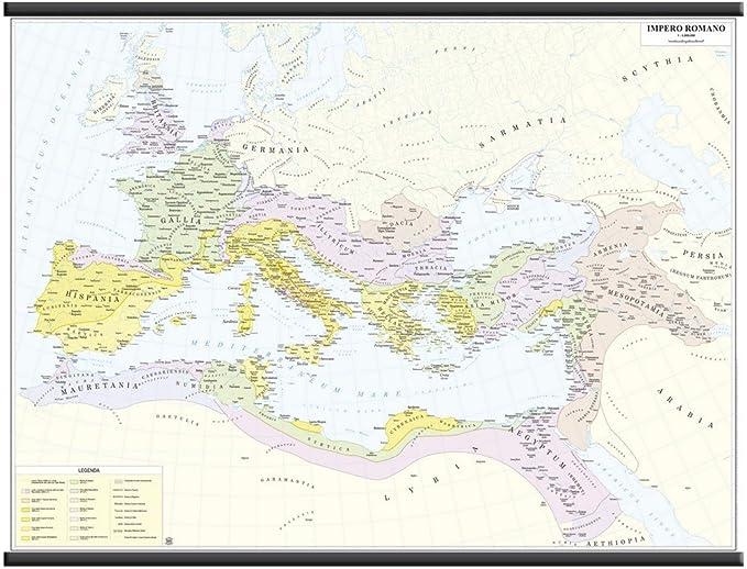 V/° Secolo a.C. Carta Murale Storica 132x99cm Antica Grecia Belletti