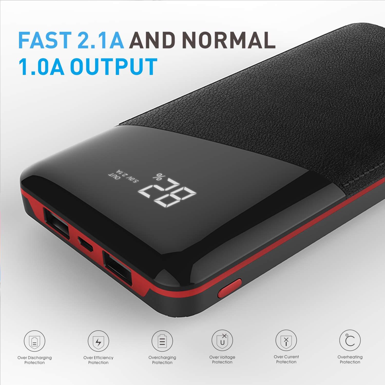 power bank 22400mah portable phone charger musfun external battery rh allbrightcollective com